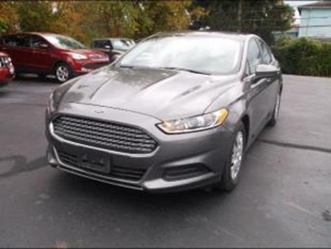 2014 Ford Fusion for sale in Logan, OH