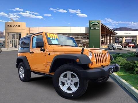 2012 Jeep Wrangler for sale in Reno, NV