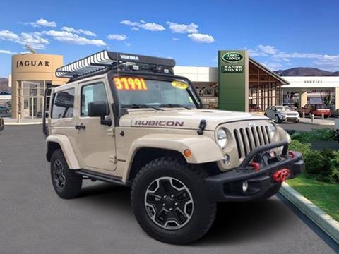 2016 Jeep Wrangler for sale in Reno, NV