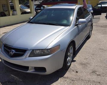 2005 Acura TSX for sale at Unique Motor Sport Sales in Kissimmee FL