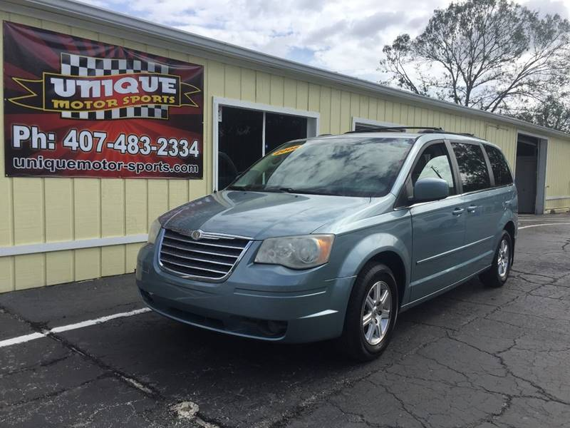 2008 chrysler town and country touring in kissimmee fl unique motor sport sales. Black Bedroom Furniture Sets. Home Design Ideas