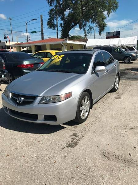 Acura TSX In Kissimmee FL Unique Motor Sport Sales - 2004 acura tsx engine for sale