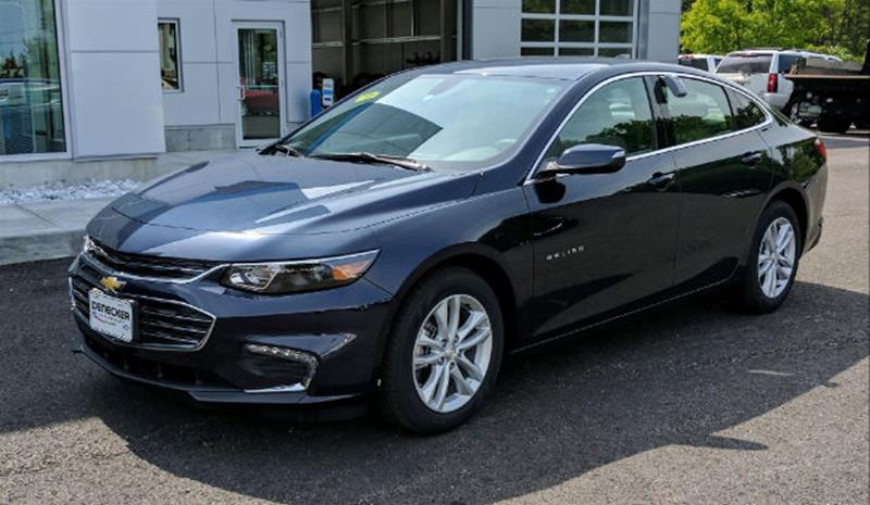 2018 Chevrolet Malibu Lt In Middlebury Vt Denecker Chevrolet