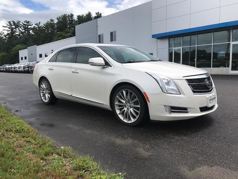 2015 Cadillac Xts Platinum In Middlebury Vt Denecker Chevrolet
