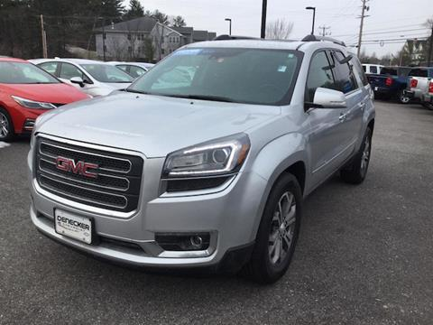 2016 GMC Acadia for sale in Middlebury, VT