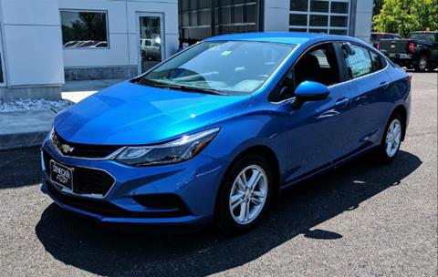 2017 Chevrolet Cruze for sale in Middlebury, VT