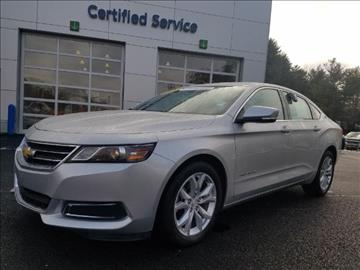 2016 Chevrolet Impala for sale in Middlebury, VT