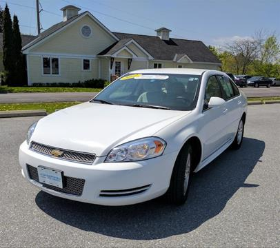 2012 Chevrolet Impala for sale in Middlebury, VT