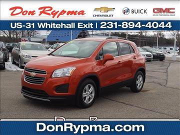 2015 Chevrolet Trax for sale in Whitehall, MI