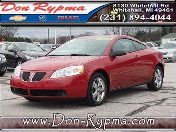 2006 Pontiac G6 for sale in Whitehall, MI