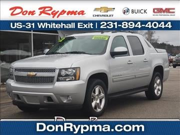 2012 Chevrolet Avalanche for sale in Whitehall, MI