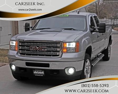 2014 GMC Sierra 3500HD for sale in Salt Lake City, UT