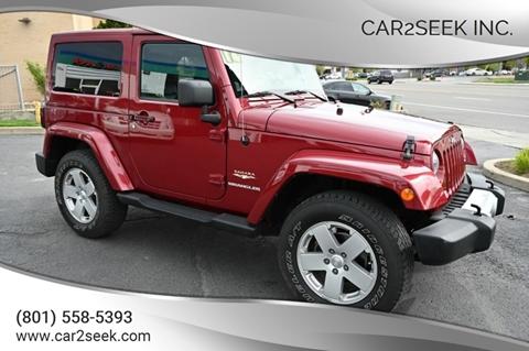 2012 Jeep Wrangler for sale in Salt Lake City, UT