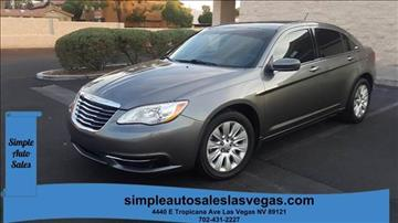 2012 Chrysler 200 for sale in Las Vegas, NV