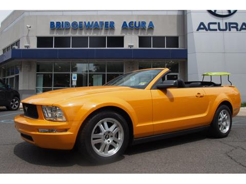 2007 Ford Mustang for sale in Bridgewater, NJ