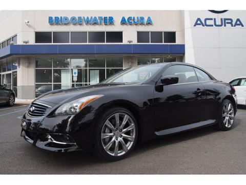 2011 Infiniti G37 Convertible for sale in Bridgewater, NJ
