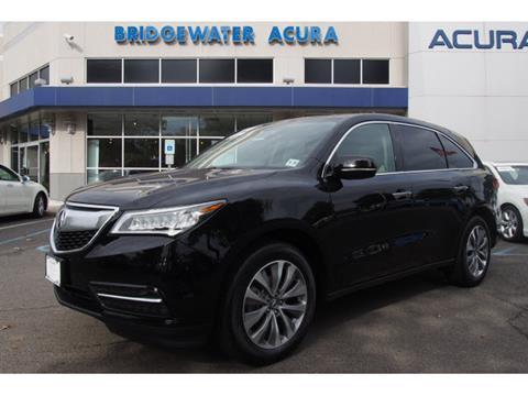 2015 Acura MDX for sale in Bridgewater, NJ