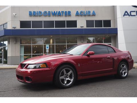 2003 Ford Mustang SVT Cobra for sale in Bridgewater, NJ