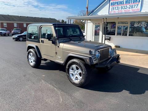 2004 Jeep Wrangler for sale in Lebanon, OH