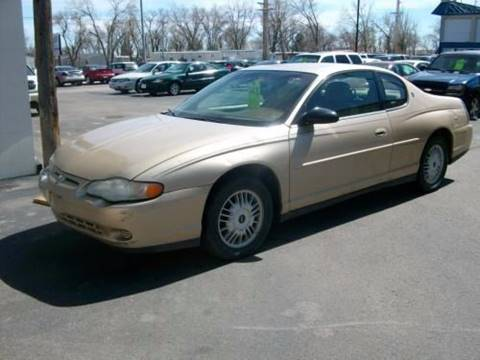 2000 Chevrolet Monte Carlo for sale in Rapid City, SD