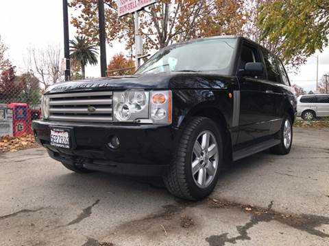2003 Land Rover Range Rover for sale in San Jose, CA