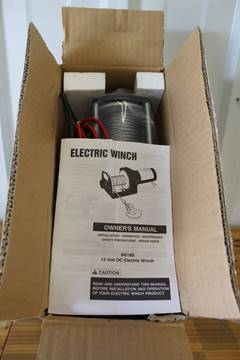 Winch  1500 lbs for sale in Isanti, MN