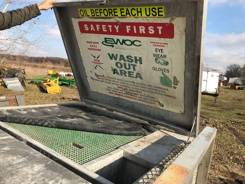 2018 Washout Container for sale at Buck's Toys & Tires in Isanti MN