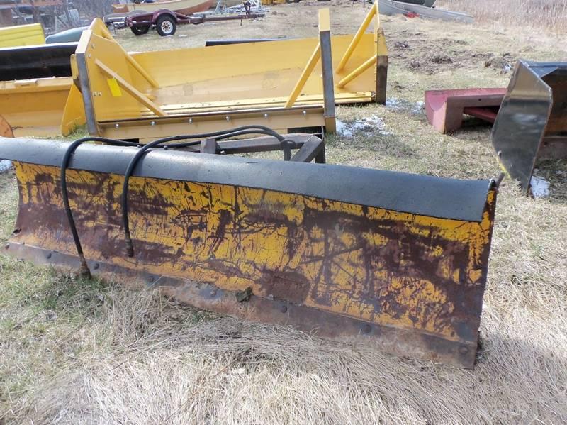 2017 Hydro Turn 8 ft plow  - Isanti MN