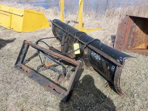 2017 Hydro Turn 8 ft plow for sale at Buck's Toys & Tires in Isanti MN