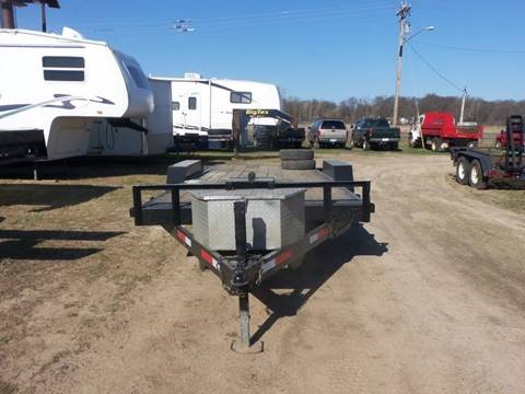 2002 H&H Car Trailer for sale at Buck's Toys & Tires in Isanti MN