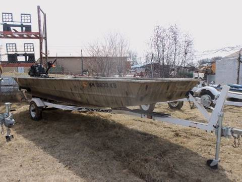 2004 Fisher Mud boat