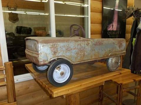 1960 Peddle Car Antique for sale at Buck's Toys & Tires in Isanti MN