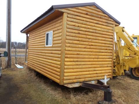 2017 Homemade Log Cabin Trailer