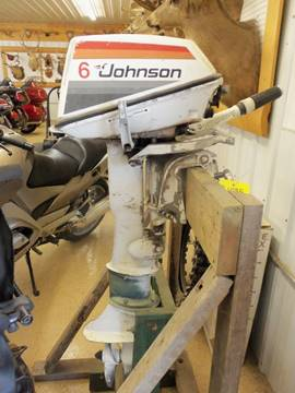 1973 Johnson Seahorse 6 HP Long Shaft for sale at Buck's Toys & Tires in Isanti MN