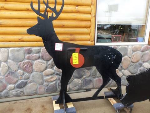 Homemade Deer Steel Shooting Target for sale at Buck's Toys & Tires in Isanti MN