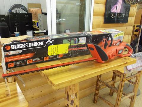 "2015 Black & Decker 24"" Hedge Trimmer for sale at Buck's Toys & Tires in Isanti MN"