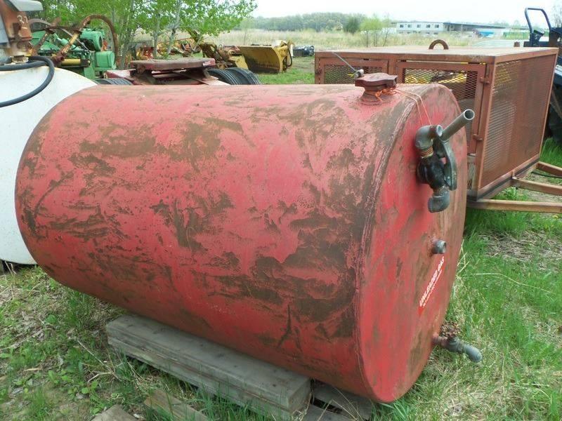 -1 Homemade Fuel Barrel 500 Gallon  - Isanti MN