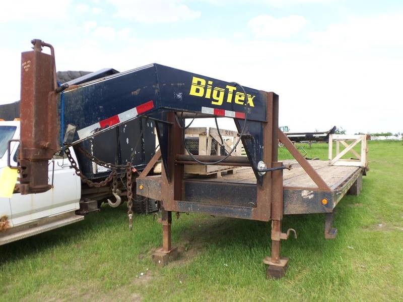 2007 Big Tex 28 Ft Gooseneck for sale at Buck's Toys & Tires in Isanti MN