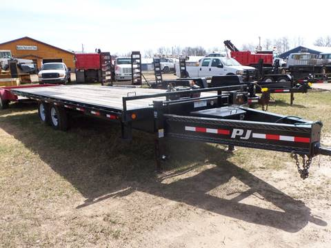 2012 PJ 24 ft Tilt Deck
