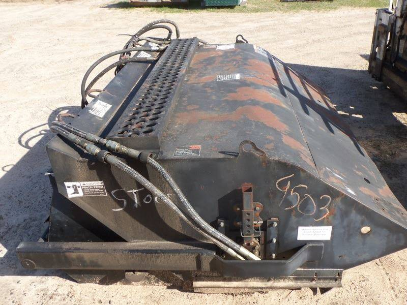 2017 Bobcat Skid steer sweeper 5 ft for sale at Buck's Toys & Tires in Isanti MN
