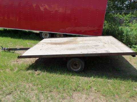 -1 Trailer -Snowmobile Trailer