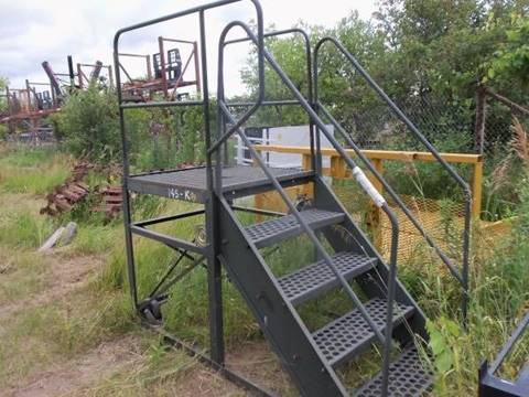 Homemade Steel Stairs Commercial for sale at Buck's Toys & Tires in Isanti MN