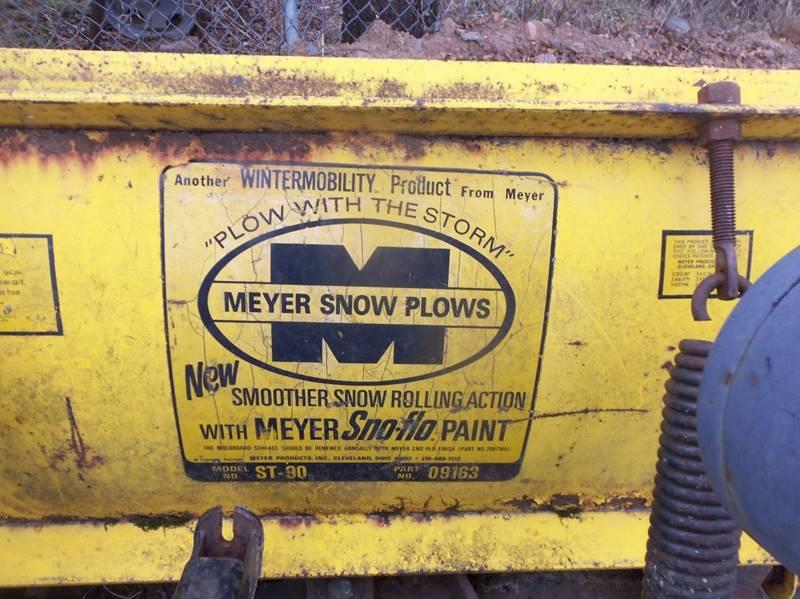 -1 Meyer 7 1/2 ft Plow  - Isanti MN