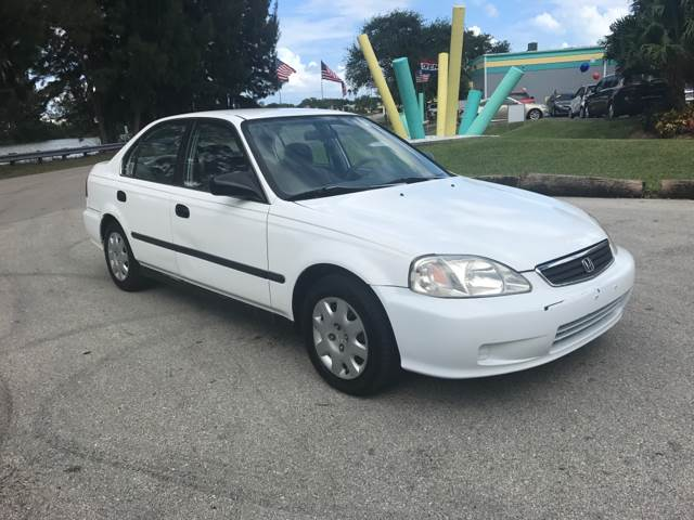 1999 Honda Civic LX 4dr Sedan - Davie FL