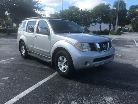 2006 Nissan Pathfinder for sale in Davie, FL