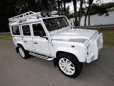 2014 Land Rover Defender 110 SW Kit Car