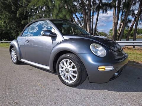 2004 Volkswagen New Beetle for sale in Davie, FL