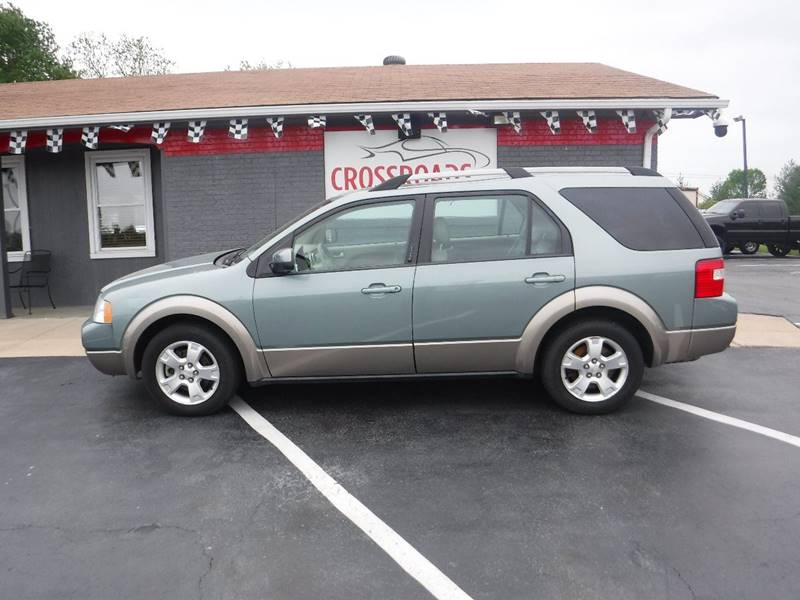 Contact ... & 2007 Ford Freestyle SEL 4dr Wagon In Wentzville MO - Crossroads ... Pezcame.Com