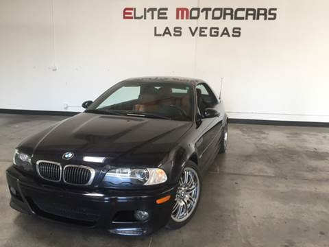 2002 BMW M3 for sale in Las Vegas, NV