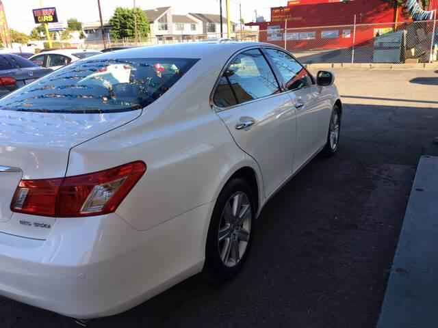 2007 Lexus ES 350 for sale at Horizon Auto Sales in Bellflower CA